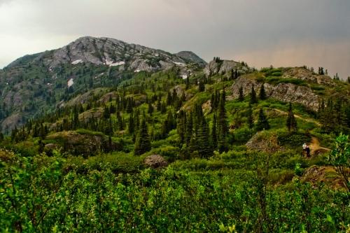 montagne Impressioniste