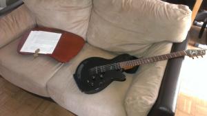 guitare ecritoire