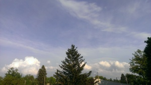 Vue de mon balcon